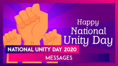 National Unity Day 2020 Greetings & Wishes to Mark Sardar Vallabhbhai Patel's Birth Anniversary
